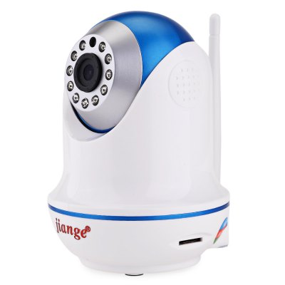 jiange SJG W11A 720P Night Vision IP Indoor CameraIP Cameras<br>jiange SJG W11A 720P Night Vision IP Indoor Camera<br><br>Product weight: 0.264 kg<br>Package weight: 0.584 kg<br>Product Size(L x W x H): 9.00 x 9.00 x 12.50 cm / 3.54 x 3.54 x 4.92 inches<br>Package Size(L x W x H): 17.50 x 10.00 x 17.00 cm / 6.89 x 3.94 x 6.69 inches<br>Package Contents: 1 x IP Camera, 1 x English User Manual, 1 x Power Adapter, 1 x Bracket, 2 x Screw, 2 x Expansion Bolt
