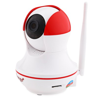 jiange SJG W8A 720P Night Vision IP Indoor CameraIP Cameras<br>jiange SJG W8A 720P Night Vision IP Indoor Camera<br><br>Product weight: 0.265 kg<br>Package weight: 0.563 kg<br>Product Size(L x W x H): 9.00 x 9.00 x 12.50 cm / 3.54 x 3.54 x 4.92 inches<br>Package Size(L x W x H): 17.50 x 10.00 x 17.00 cm / 6.89 x 3.94 x 6.69 inches<br>Package Contents: 1 x IP Camera, 1 x English User Manual, 1 x Power Adapter, 1 x Bracket, 2 x Screw, 2 x Expansion Bolt