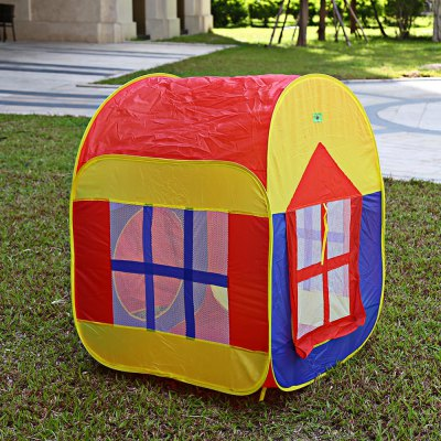 Kids Portable Foldable Outdoor Indoor Cartoon TentOutdoor Fun &amp; Sports<br>Kids Portable Foldable Outdoor Indoor Cartoon Tent<br><br>Age Range: &gt; 3 years old<br>Features: Foldable<br>Material: Cloth<br>Type: Tent<br>Product weight: 0.695 kg<br>Package weight: 0.860 kg<br>Package Size(L x W x H): 40.00 x 38.00 x 5.00 cm / 15.75 x 14.96 x 1.97 inches<br>Package Contents: 1 x Cartoon Tent, 4 x Tent Peg
