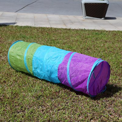 1.5M Colorful Folding Kids Tunnel Tube Play Tent Toy