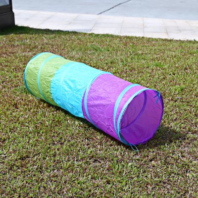 1.5M Colorful Foldable Children Tunnel Tube Play Tent