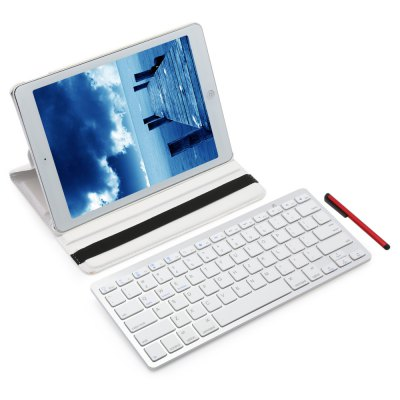 Wireless Bluetooth Keyboard Detachable Cover for iPad Pro 9.7 Inch