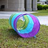 best 1.5M Colorful Folding Kids Tunnel Tube Play Tent Toy