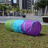 1.5M Colorful Folding Kids Tunnel Tube Play Tent Toy photo