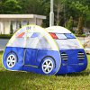 cheap Kids Cartoon Car Play Tent Toy Outdoor Garden Playhouse