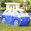 Kids Cartoon Car Play Tent Toy Outdoor Garden Playhouse photo