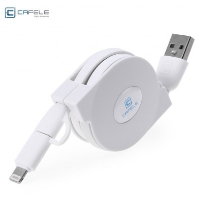 CAFELE 2 in 1 USB Cable