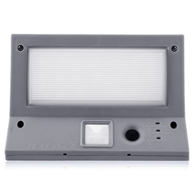 Solar Powered PIR Motion Sensor 21 LEDs Wall LightOutdoor Lights<br>Solar Powered PIR Motion Sensor 21 LEDs Wall Light<br><br>Body Material: ABS,PC,Stainless Steel<br>Emitting color: White<br>Is Bulbs Included: Yes<br>Is Dimmable: Yes<br>Light Source: LED Bulbs<br>Style: Modern<br>Usage: Home,Outdoor<br>Wattage: 2W<br>Product weight: 0.329 kg<br>Package weight: 0.417 kg<br>Product Size(L x W x H): 16.00 x 11.00 x 8.30 cm / 6.3 x 4.33 x 3.27 inches<br>Package Size(L x W x H): 17.00 x 11.50 x 9.00 cm / 6.69 x 4.53 x 3.54 inches<br>Package Contents: 1 x Solar Powered PIR Motion Sensor 21 LEDs Wall Light, 3 x Screw, 3 x Expansion Bolt, 1 x English Manual