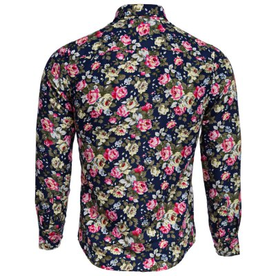 Floral Print Turn Down Collar Long Sleeve Men ShirtMens Shirts<br>Floral Print Turn Down Collar Long Sleeve Men Shirt<br><br>Collar: Turn-down Collar<br>Fabric Type: Broadcloth<br>Material: Cotton Blends<br>Package Contents: 1 x Shirt<br>Shirts Type: Casual Shirts<br>Sleeve Length: Full<br>Weight: 0.1610kg