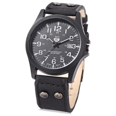 Unisex Quartz Watch Military Wristwatch