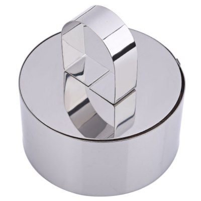 Stainless Steel Cupcake Mold Mould Ring