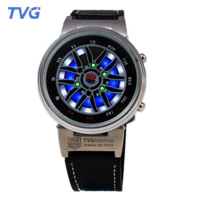 TVG X6 Male LED Digital Multifunctional Watch