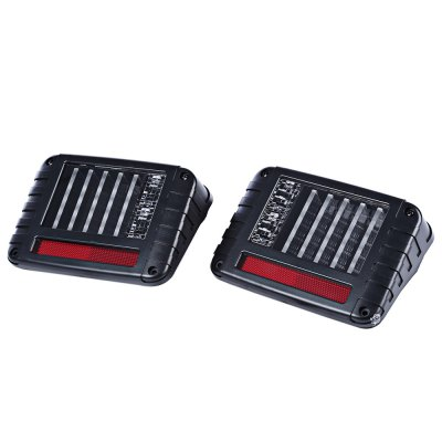 2pcs OL - JT03 Car LED Break Tail Light for Jeep Wrangler