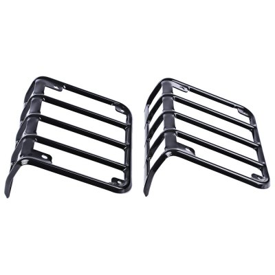 Paired OL - JMB - T Car Tail Light Trim Guard Protector for Jeep Wrangler