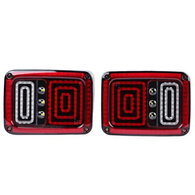 2pcs OL - JT02 Car LED Break Tail Light for Jeep Wrangler