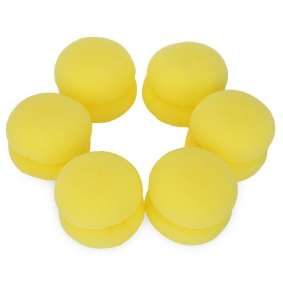 6pcs Mushroom Ball  Healthy Soft Foam Ladies Hair Curler