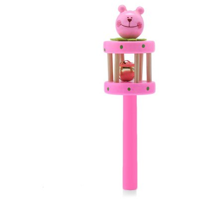 Baby Wooden Hand Bell Toy