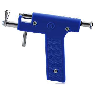 Stainless Steel Nose Ear Navel Body Piercing Gun with 84Pcs Studs Tool Kit Sets