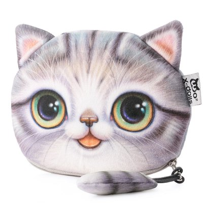 Cartoon Cat Zipper Design Ladies Workmanship Change PurseCoin Purse &amp; Card Holder<br>Cartoon Cat Zipper Design Ladies Workmanship Change Purse<br><br>Gender: For Women<br>Style: Fashion<br>Closure Type: Zipper<br>Pattern Type: Character<br>Main Material: Polyester<br>Length(CM): 15.5cm / 6.0915inch<br>Width: 13cm / 5.109inch<br>Height: 1.5cm / 0.5895inch<br>Product weight: 0.026 kg<br>Package weight: 0.051 kg<br>Product size (L x W x H): 15.50 x 13.00 x 1.50 cm / 6.1 x 5.12 x 0.59 inches<br>Package size (L x W x H): 8.00 x 7.00 x 5.50 cm / 3.15 x 2.76 x 2.17 inches<br>Package Contents: 1 x Change Purse
