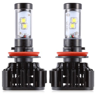 Paired K8  H8 / 9 / 11 80W Integrated LED Vehicle Headlight