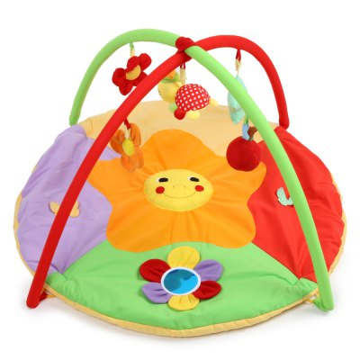 Baby Soft Play Mat Sunflower Gym Blanket