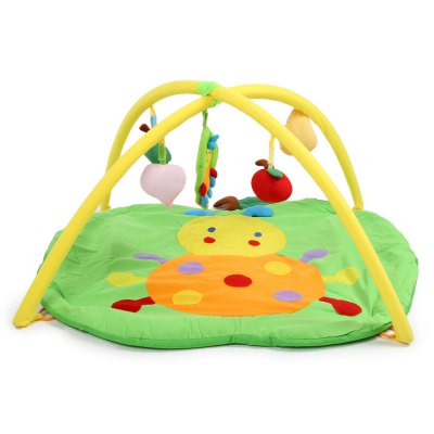 Baby Soft Play Mat Apple Crawling Blanket