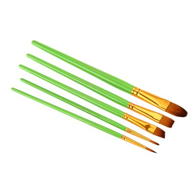 ZhuTing 5pcs Nylon Hair Paint Brush SetPainting Supplies<br>ZhuTing 5pcs Nylon Hair Paint Brush Set<br><br>Product weight: 0.024 kg<br>Package weight: 0.036 kg<br>Package Size(L x W x H): 26.00 x 7.00 x 1.00 cm / 10.24 x 2.76 x 0.39 inches<br>Package Contents: 5 x Nylon Hair Painting Brush Artist Acrylic Oil Painting Drawing Tools