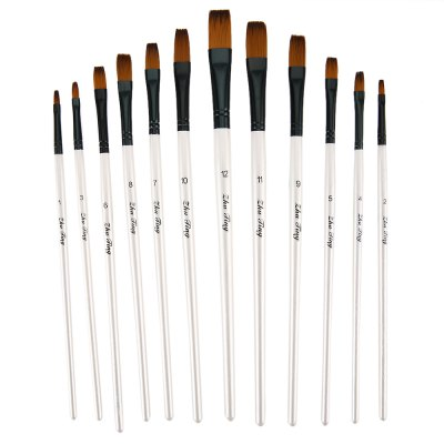 ZhuTing 12pcs 4 Colors Nylon Wool Even Acrylic Drawing Brush PenPainting Supplies<br>ZhuTing 12pcs 4 Colors Nylon Wool Even Acrylic Drawing Brush Pen<br><br>Product weight: 0.059 kg<br>Package weight: 0.081 kg<br>Package Size(L x W x H): 30.00 x 12.00 x 0.50 cm / 11.81 x 4.72 x 0.2 inches<br>Package Contents: 12 x Even Nylon Wool Acrylic Drawing Brush Pen