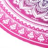 cheap Printed Beach Towel Round Pad Mat Outdoor Accessory