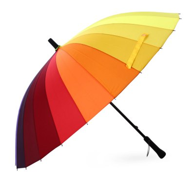 fashion-straight-handlebar-colorful-rainbow-golf-umbrella