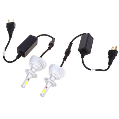 Paired C6 H7 60W LED Automobile Headlight