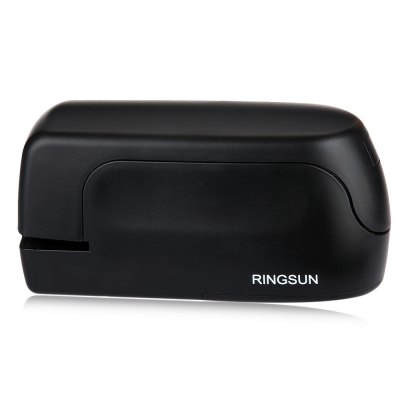 RINGSUN RS - A09081 Capacity Electric Battery Operated StaplerSchool Supplies<br>RINGSUN RS - A09081 Capacity Electric Battery Operated Stapler<br><br>Product weight: 0.238 kg<br>Package weight: 0.288 kg<br>Product Size(L x W x H): 13.50 x 4.00 x 6.30 cm / 5.31 x 1.57 x 2.48 inches<br>Package Size(L x W x H): 14.00 x 5.00 x 7.00 cm / 5.51 x 1.97 x 2.76 inches<br>Package Contents: 1 x RINGSUN RS - A09081 20 Sheet Capacity Electric Battery Operated Stapler, 1 x English User Manual
