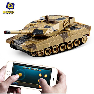 Huanqi No.H500 Bluetooth 2.0 RC Simulated Tank