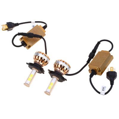 Paired C8 H4 80W LED Automobile Headlight