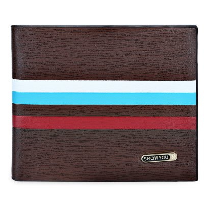 SHOWYOU Stripe Photo Cash Card Holder Short WalletMens Wallets<br>SHOWYOU Stripe Photo Cash Card Holder Short Wallet<br><br>Closure Type: Open<br>Embellishment: Letter<br>Gender: For Men<br>Hardness: Hard<br>Height: 9.3cm / 3.66inch<br>Interior: Interior Slot Pocket<br>Length(CM): 12cm / 4.72inch<br>Main Material: PU Leather<br>Package Contents: 1 x Wallet<br>Package size (L x W x H): 12.50 x 2.20 x 9.80 cm / 4.92 x 0.87 x 3.86 inches<br>Package weight: 0.090 kg<br>Pattern Type: Striped<br>Product weight: 0.079 kg<br>Style: Fashion<br>Wallets Type: Clutch Wallets<br>Width: 1.7cm / 0.67inch