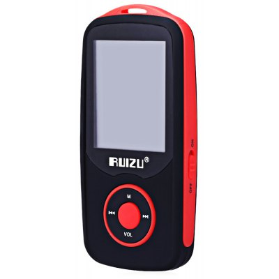 RUIZU X06 MP3 Player with 1.8 Inch LCD Screen