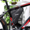best CYCLE ZONE Portable Mountain Bicycle Handlebar Triangle Bag
