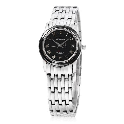 LOTUSMAN DL802SWA Female Quartz WatchWomens Watches<br>LOTUSMAN DL802SWA Female Quartz Watch<br><br>Band Length: 7.48 inch<br>Band Material Type: Stainless Steel<br>Band Width: 14 mm<br>Case material: Stainless Steel<br>Case Shape: Round<br>Clasp type: Hidden Buckle<br>Dial Diameter: 0.98 inch<br>Dial Display: Analog<br>Dial Window Material Type: Sapphire<br>Feature: Date<br>Gender: Women<br>Movement: Quartz<br>Style: Simple<br>Water Resistance Depth: 30m<br>Product weight: 0.060 kg<br>Package weight: 0.453 kg<br>Product Size(L x W x H): 19.00 x 2.80 x 0.50 cm / 7.48 x 1.1 x 0.2 inches<br>Package Size(L x W x H): 12.00 x 12.00 x 10.00 cm / 4.72 x 4.72 x 3.94 inches<br>Package Contents: 1 x LOTUSMAN DL802SWA Female Quartz Watch