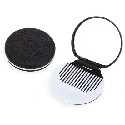 Mirror Cosmetic Chocolate Sandwich Biscuit Makeup