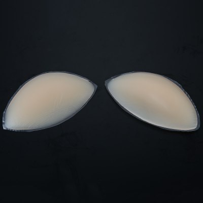 Paired Silicone Insert Bra Natural Chest Pad