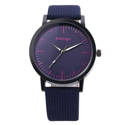 Rosivga 829 Unisex Quartz WatchUnisex Watches<br>Rosivga 829 Unisex Quartz Watch<br><br>Band Length: 8.08 inch<br>Band Material Type: Leather<br>Band Width: 20mm<br>Case material: Alloy<br>Case Shape: Round<br>Clasp type: Pin Buckle<br>Dial Diameter: 1.57 inch<br>Dial Display: Analog<br>Dial Window Material Type: Glass<br>Feature: Luminous<br>Gender: Men,Women<br>Movement: Quartz<br>Style: Simple<br>Product weight: 0.032 kg<br>Package weight: 0.090 kg<br>Product Size(L x W x H): 24.50 x 4.50 x 1.00 cm / 9.65 x 1.77 x 0.39 inches<br>Package Size(L x W x H): 9.00 x 8.00 x 5.50 cm / 3.54 x 3.15 x 2.17 inches<br>Package Contents: 1 x Rosivga 829 Unisex Quartz Watch