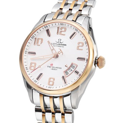 LOTUSMAN DM852SWA Men Automatic Mechanical WatchMens Watches<br>LOTUSMAN DM852SWA Men Automatic Mechanical Watch<br><br>Band Length: 8.27 inch<br>Band Material Type: Stainless Steel<br>Band Width: 18 mm<br>Case material: Stainless Steel<br>Case Shape: Round<br>Clasp type: Butterfly Clasp<br>Dial Diameter: 1.5 inch<br>Dial Display: Analog<br>Dial Window Material Type: Sapphire<br>Feature: Date,Luminous<br>Gender: Men<br>Movement: Automatic Self-Wind<br>Style: Simple<br>Water Resistance Depth: 50m<br>Product weight: 0.137 kg<br>Package weight: 0.530 kg<br>Product Size(L x W x H): 21.00 x 4.50 x 1.00 cm / 8.27 x 1.77 x 0.39 inches<br>Package Size(L x W x H): 12.00 x 12.00 x 10.00 cm / 4.72 x 4.72 x 3.94 inches<br>Package Contents: 1 x LOTUSMAN DM852SWA Men Automatic Mechanical Watch