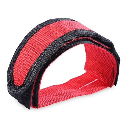 Bicycle Double Adhesive Strap Pedal Toe Clip Belt
