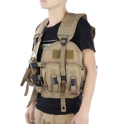 Airsoft Camouflage Military Molle Combat Assault Plate Carrier Vest