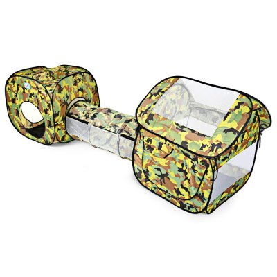 Portable Folding Camouflage Pop Up Tunnel Tent