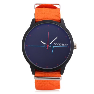 Unisex Quartz WatchUnisex Watches<br>Unisex Quartz Watch<br><br>Band Length: 10.24 inch<br>Band Material Type: Canvas<br>Band Width: 22mm<br>Case material: Alloy<br>Case Shape: Round<br>Clasp type: Pin Buckle<br>Dial Diameter: 1.75 inch<br>Dial Display: Analog<br>Dial Window Material Type: Glass<br>Feature: Luminous<br>Gender: Men,Women<br>Movement: Quartz<br>Style: Simple<br>Product weight: 0.043 kg<br>Package weight: 0.101 kg<br>Product Size(L x W x H): 26.00 x 5.00 x 1.00 cm / 10.24 x 1.97 x 0.39 inches<br>Package Size(L x W x H): 9.00 x 8.00 x 5.50 cm / 3.54 x 3.15 x 2.17 inches<br>Package Contents: 1 x Unisex Quartz Watch