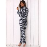 Women Polka Dot Print Soft Pajama photo