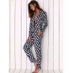 best Women Polka Dot Print Soft Pajama