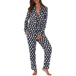Women Polka Dot Print Soft Pajama