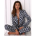 Women Polka Dot Print Soft Pajama deal